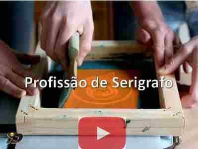 Curso de Serigrafia ou silk screen